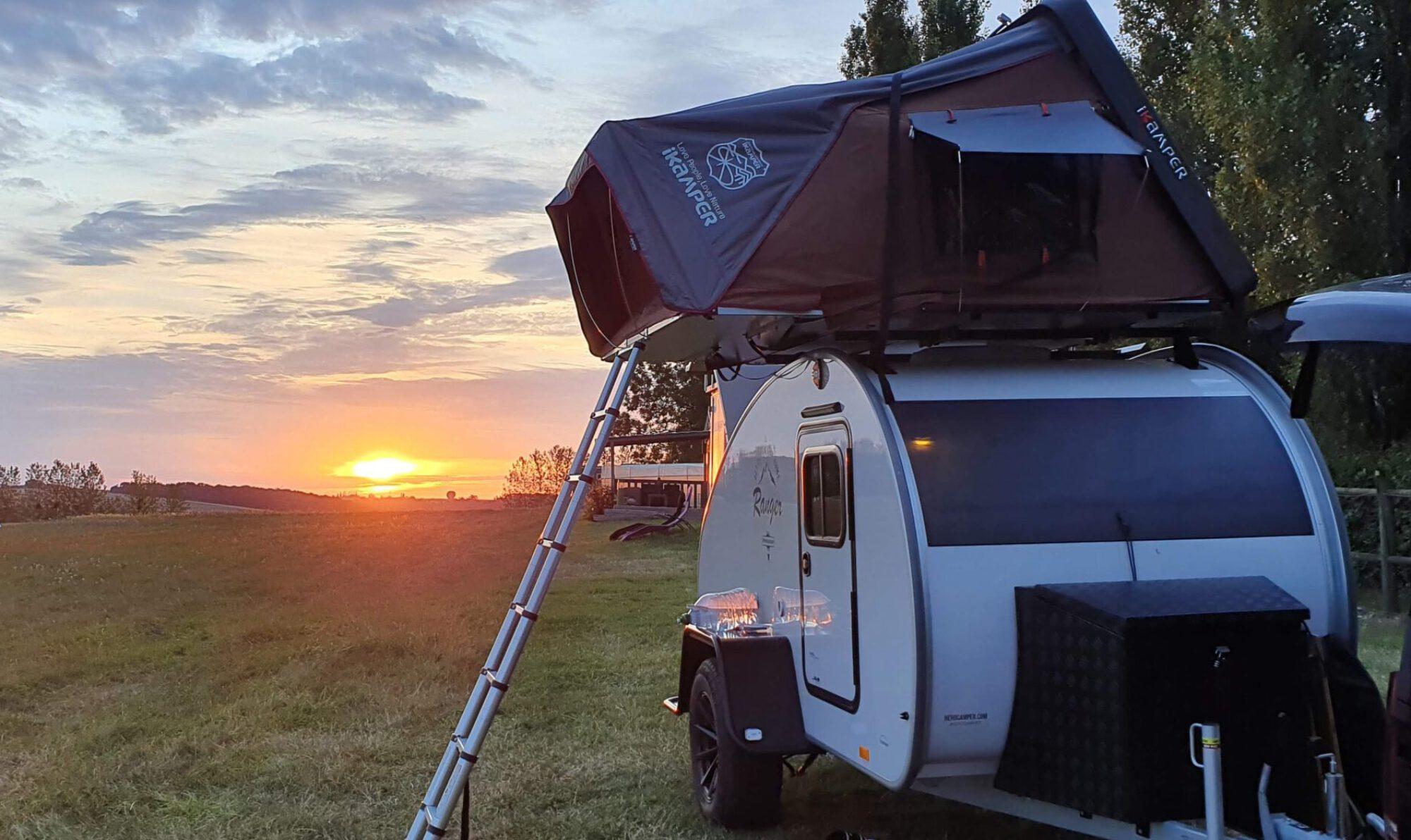 Abenteuer-mieten   Dachzelt & Hero Camper Ranger Verleih